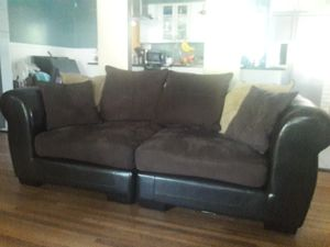 Love seat with ottoman for Sale in Montevallo, AL
