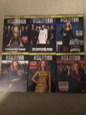 The Closer - Season 1-6 for Sale in San Diego, CA