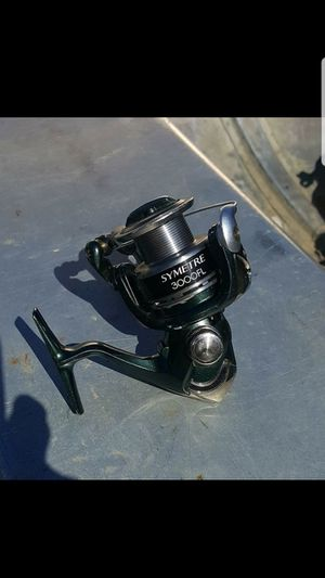 Shimano Symtre 3000 Fishing Reel.... Used normal wear... Asking $50 obo or trade depending on needed or not.. for Sale in Sacramento, CA