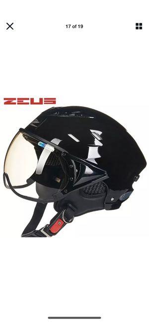 ZEUS Half Face Motorcycle Helmet Electric Bike Scooter Motorbike Helmets ZS-125B for Sale in Burlingame, CA
