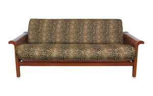 New loft ny twin full futon cover in cheetah print for Sale in Henderson, NV