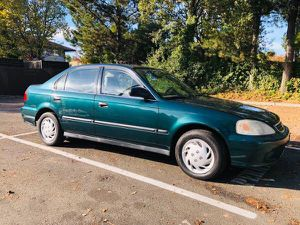 1999 Honda Civic Smoged, clean title, registered for Sale in Santa Rosa, CA