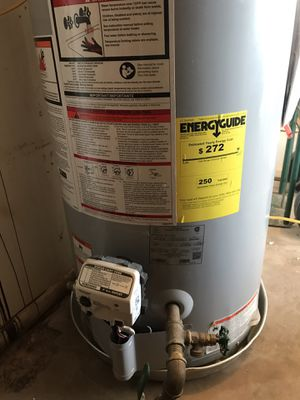 gas hot water heater for Sale in San Angelo, TX