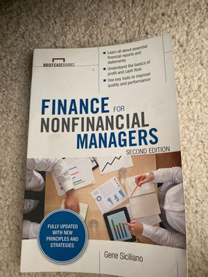Finance for Non financial managers, 2nd edition for Sale in Murrieta, CA