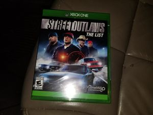 Xbox one street outlaws for Sale in Manassas, VA