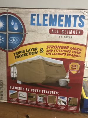 Travel Trailer Cover 26-28ft for Sale in Niederwald, TX