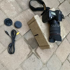 Nikon With Lens for Sale in Jurupa Valley, CA