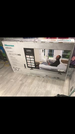 50 Inch hisense 4k roku smart tv for Sale in Ontario, CA