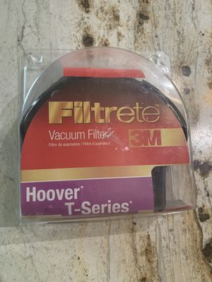 ***FILTRETE VACUUM FILTER 3M HOOVER T-SERIES*** for Sale in Portland, OR