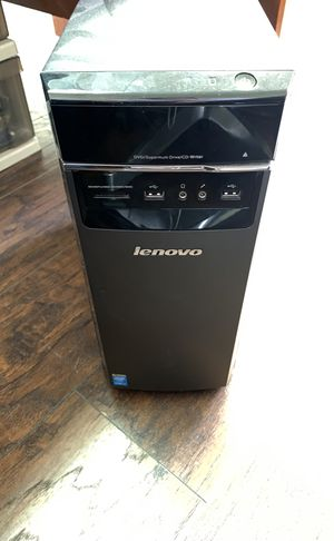 Lenovo Tower w/ LG HDMI Monitor for Sale in Austin, TX