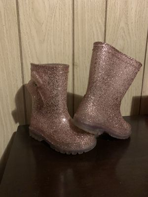 Girls Pink Sparkle Rain Boots for Sale in Redondo Beach, CA