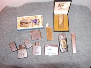 Older Lighters. Zippo, Cyman Colibri etc for Sale in Fresno, CA