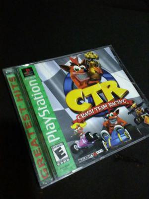 Crash Bandicoot-Crash Team Racing for PS1 for Sale in Carol Stream, IL