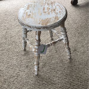 NEW Wooden Stool ; Antique Look for Sale in Glenshaw, PA