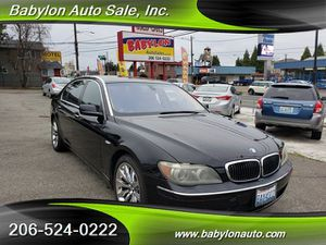 2007 BMW 7 Series for Sale in Seattle, WA
