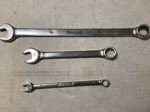 Metric Wrenches Duralast Crescent Pittsburgh (8,14,15mm) for Sale in Azusa, CA