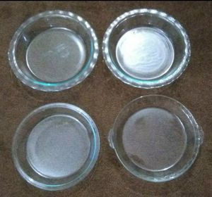 "4 Pyrex 9""Pie Pans for Sale in Henderson, NV"
