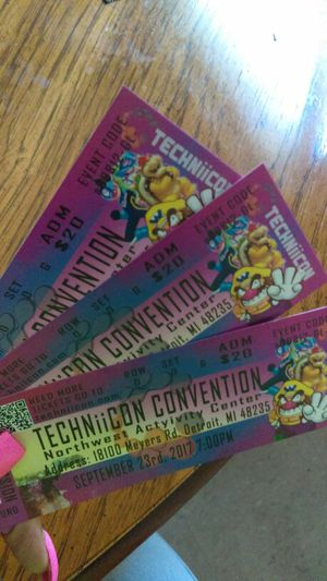 TECHNIICON 3 anime convention tickets for Sale in Detroit, MI