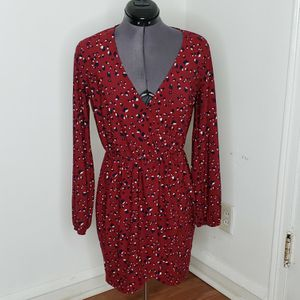 Forever 21 Burgundy Medium Shirt Dress for Sale in Willow Grove, PA