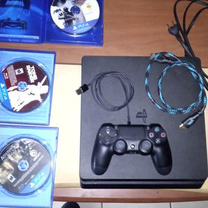 Ps4 1tb Memory W/4games for Sale in Laveen Village, AZ