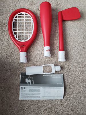 NERF WII Sports Plus RESORT PACK RED ~ Golf, Table Tennis, Fencing for Sale in Chambersburg, PA