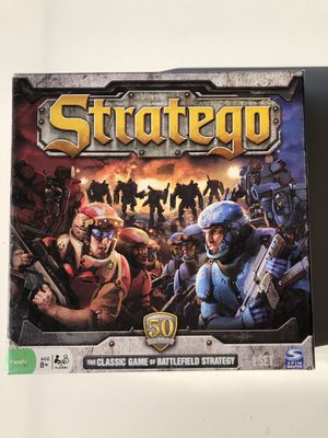 Five board games - clue set stratego guesstures imaginiff for Sale in Hillsborough, CA
