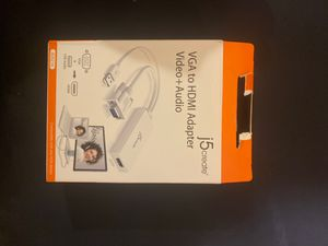 VGA to HDMI adaptor for Sale in New Rochelle, NY