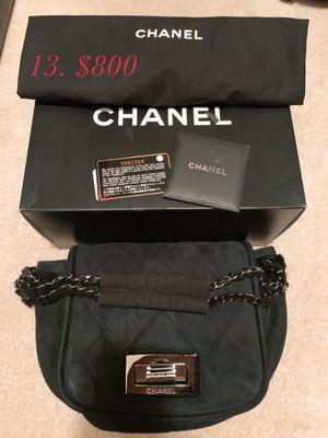 CHANEL black fur bag for Sale in Las Vegas, NV