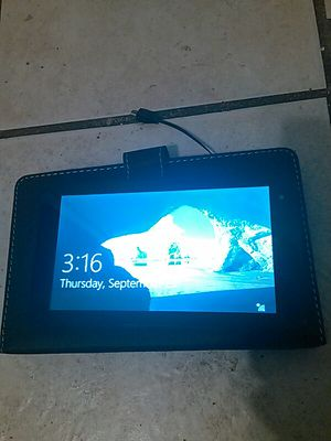 Vulcan windows 10 tablet for Sale in Scottsdale, AZ