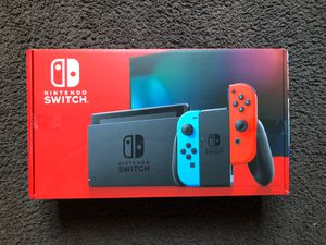 Nintendo Switch with Neon Joy-cons *Brand New with Free Delivery* for Sale in Portland, OR