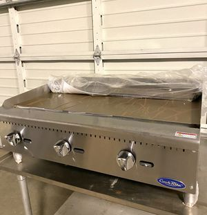 Commercial restaurant countertop gas griddle for Sale in Kent, WA