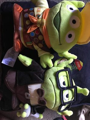 Alien as Carl and Russell plushies for Sale in La Puente, CA