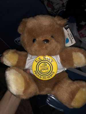 U.S. Navy Teddy Bear for Sale in Colonial Heights, VA
