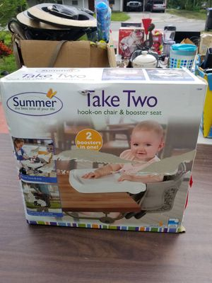 Hook on Chair/Booster Seat for Sale in Orlando, FL