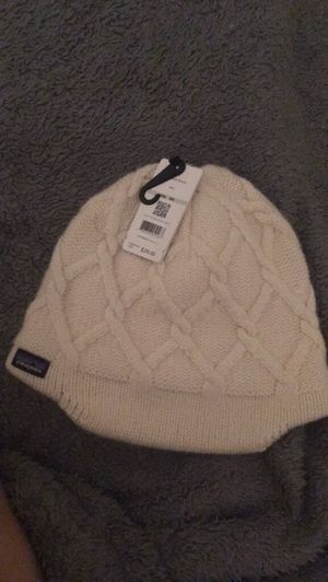Patagonia cream beanie for Sale in Galloway, OH