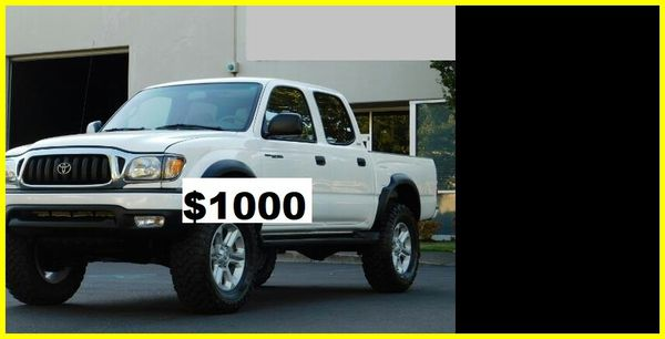 only$1000 Toyota
