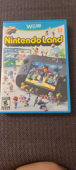 Nintendo Land Wii U Game for Sale in Hazard, CA