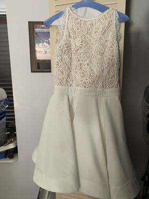 All white dress. Has a small can be dry cleaned. for Sale in Miami, FL