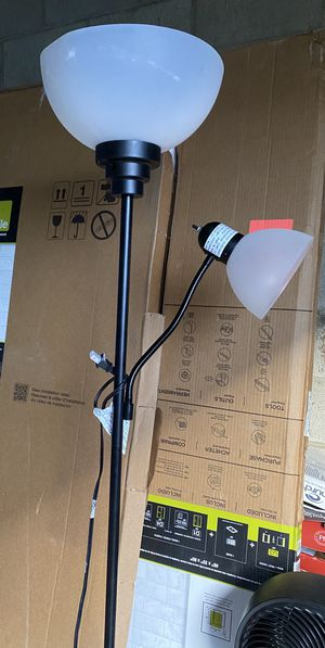 Floor lamp with reading light for Sale in Costa Mesa, CA