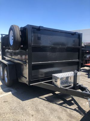 8x12x4 DUMP TRAILER for Sale in Scottsdale, AZ