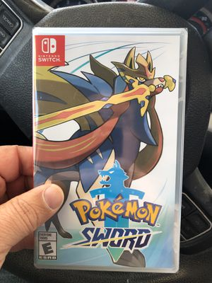 A new generation of Pokémon is coming to the Nintendo SwitchTM system. Become a Pokémon Trainer and embark on a new journey in the new Galar region! for Sale in Fullerton, CA