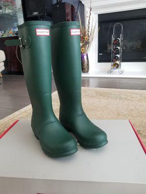 ORIGINAL Hunter Tall Rain Boots size 7 for Sale in San Jose, CA