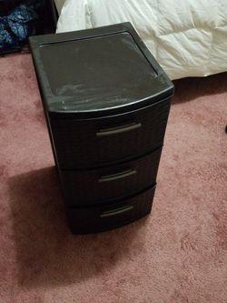 3 drawer storage bin for Sale in Des Moines,  WA