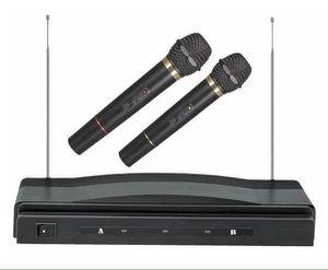 Dolphin Dual Wireless 2 Microphone With Receiver 30 Ft Range Dos Micrófonos con Recibidos MC-2 for Sale in Miami, FL
