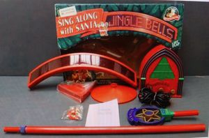Sing Along with Santa Karaoke by Mr. Christmas- 50 Christmas songs for Sale in Peabody, MA