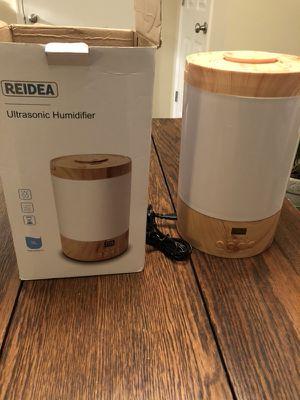 Reidea ultrasonic humidifier, 3 liter for Sale in Nashville, TN