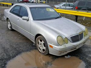 2001 MERCEDES-BENZ E 430 4.3L 061827 Parts only. U pull it yard cash only. for Sale in Temple Hills, MD