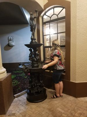 Bronze water fountain for Sale in Tampa, FL