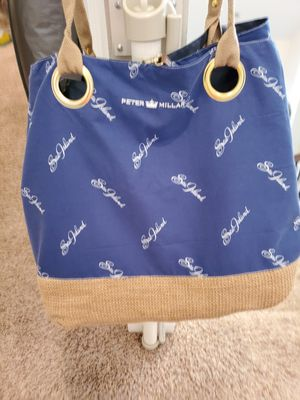 Peter Millar Sea Island Blue Tote Bag for Sale in Westfield, IN