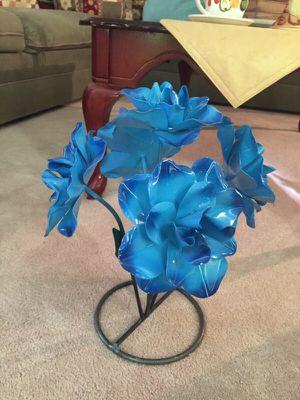 Metal ornament flower for Sale in Beltsville, MD